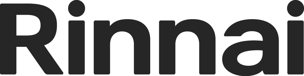 Rinnai logo (greyscale)